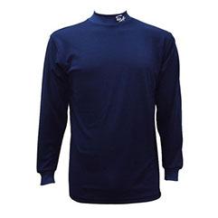 長袖 アンダーシャツ 紺