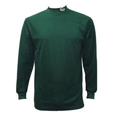 長袖 アンダーシャツ 緑